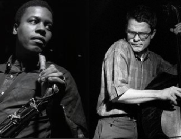 Wayne Shorter and Charlie Haden